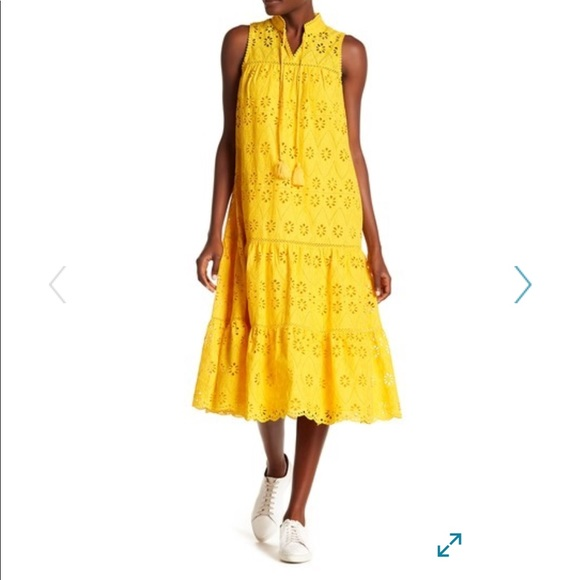e55c0ee927 kate spade Dresses & Skirts - Kate Spade New York Lace Eyelet Patio Dress
